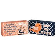 Blossom and Buds 2 Piece Oh So Tweet Plock Hanging Art Set (Set of 4)