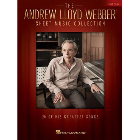 The Andrew Lloyd Webber Sheet Music Collection for Easy Piano (Paperback)