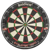 Unicorn Eclipse Pro Dart Board with Ultra slim Segmentation ? 30% Thinner Than Conventional Boards