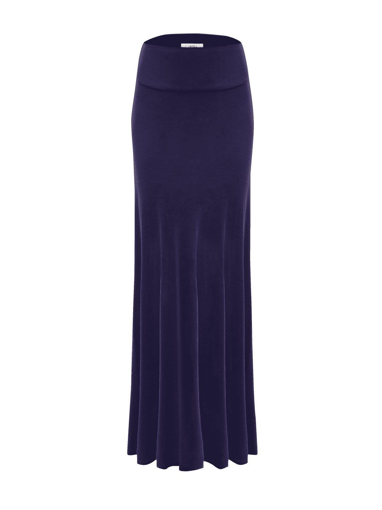 LL Womens Floor Length Maxi Skirt Made in USA