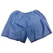 HCS HCS4003 Exam Shorts,Blue,XL,PK50