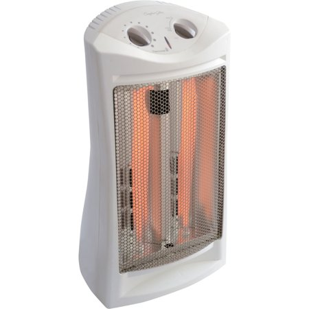 Comfort glow infrared quartz tower heater for Small room quartz heater