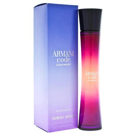 - Armani Code Cashmere by Giorgio Armani for Women - 2.5 oz EDP Spray