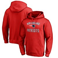 New England Patriots NFL Pro Line by Fanatics Branded Victory Arch Pullover Hoodie - Red