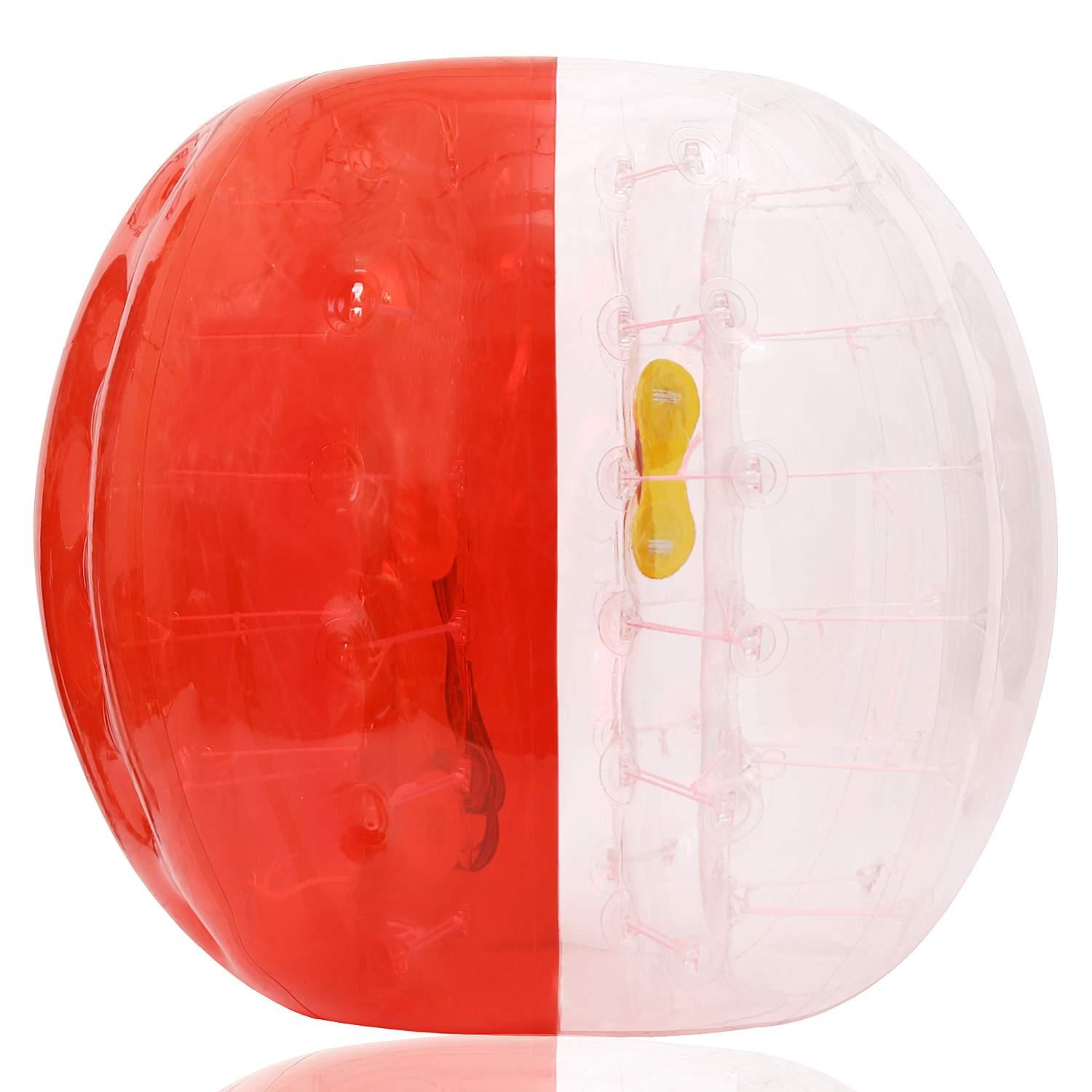Inflatable Bumper Ball Human Knocker Ball Bubble Soccer Football Adults and Kids KMIMT by