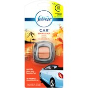 Febreze Car Vent Clips Air Freshener Hawaiian Aloha 2 ml
