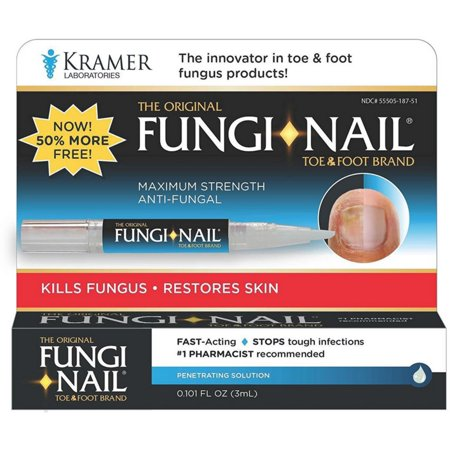2 Pack - Fungi-Nail Brand Toe & Foot Pen Anti-Fungal Solution 0.101