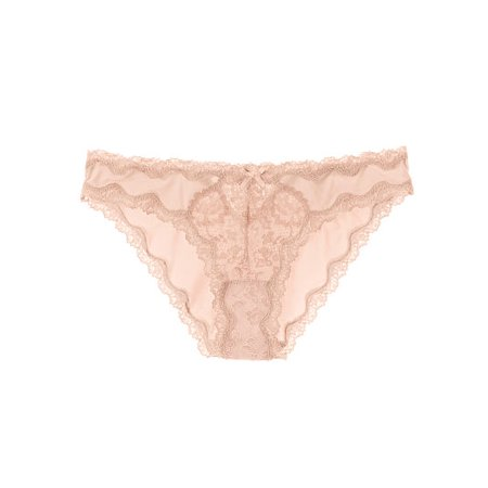 Victoria's Secret Dream Angels Lace Trim Cheekini Panty