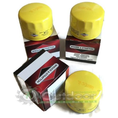 3 Pack Briggs & Stratton Oil Filter PRO Series 696854 695396 492932 492932S