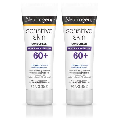 Neutrogena Sensitive Skin Sunscreen Lotion with SPF 60+, 3 fl. oz