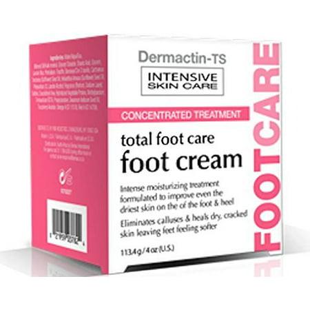 Demactin-TS soins intensifs de la peau - Concentré total Soins des pieds Crème pour les pieds 4 oz