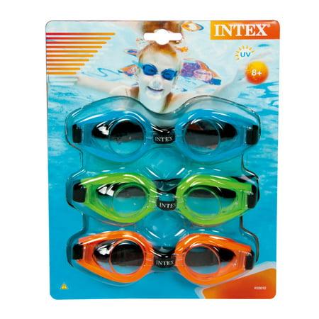 496c8f7f6e Intex Sport Relay Goggles - Walmart.com