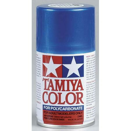 Tamiya America, Inc Polycarbonate PS-16 Metal Blue, Spray 100 ml,