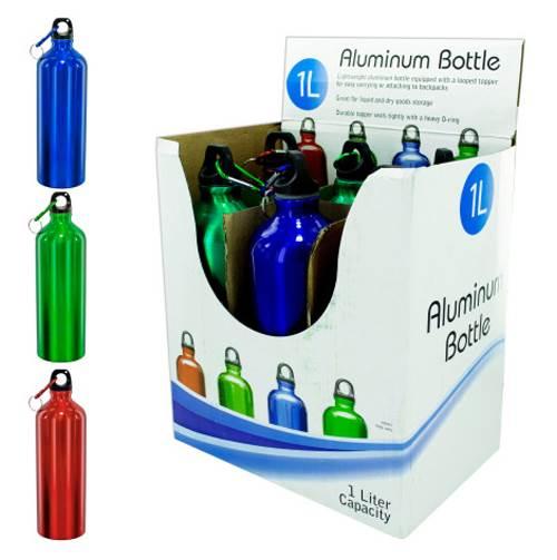 Aluminum Bottle Counter Top Display