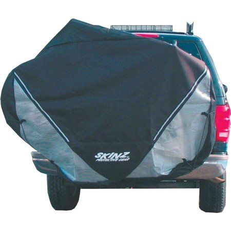 Skinz Hitch Rack Rear Transport Cover: Fits 2-4 Bikes~ Black~ - Skinz Snowmobile Cover