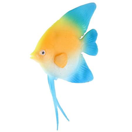 Artificial Floating (Aquarium Silicone Artificial Lifelike Floating Fish Decoration Ornament )