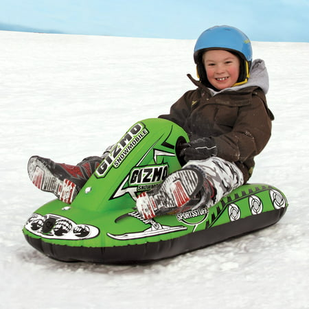 SPORTSSTUFF GIZMO GREEN Snow Tube - Winter Snowmobile Sled - image 1 of 2