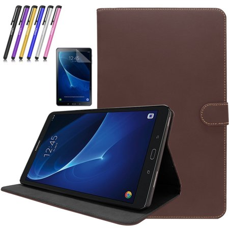 Samsung Galaxy Tab A 10 1 Case - Mignova Flip Stand Leather Folio Cover  with Auto Sleep/Wake Feature for Tab A 10 1 Inch (SM-T580 / SM-T585) Tablet