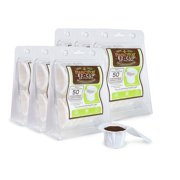 EZ-Cup Disposable Paper Coffee Filters with Patented Lid Design for Use with Reusable K-Cup Coffee Pod for Keurig Coffee Makers, 300-Count