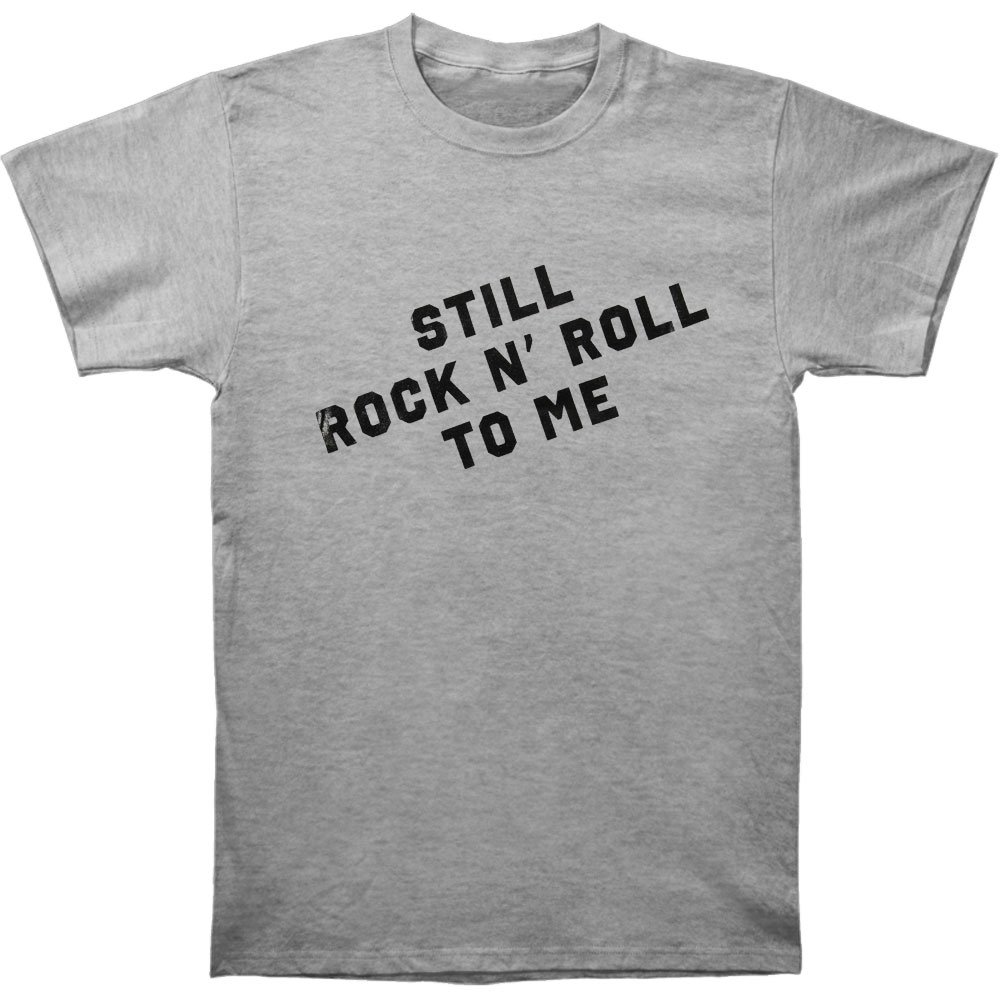 Billy Joel Men's  Still Rock And Roll To Me T-shirt Heather