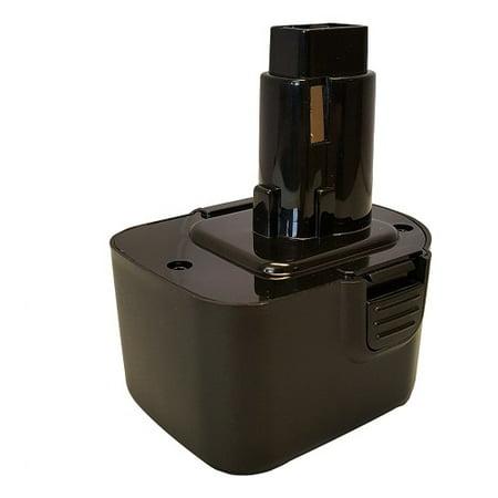 Replacement Power Tool Battery for Dewalt DW907 by Banshee Brand 12V 1.5Ah Ni-CD Dewalt Power Tool Chisel