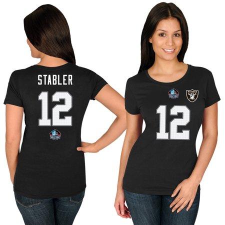 Ken Stabler Oakland Raiders Majestic Women