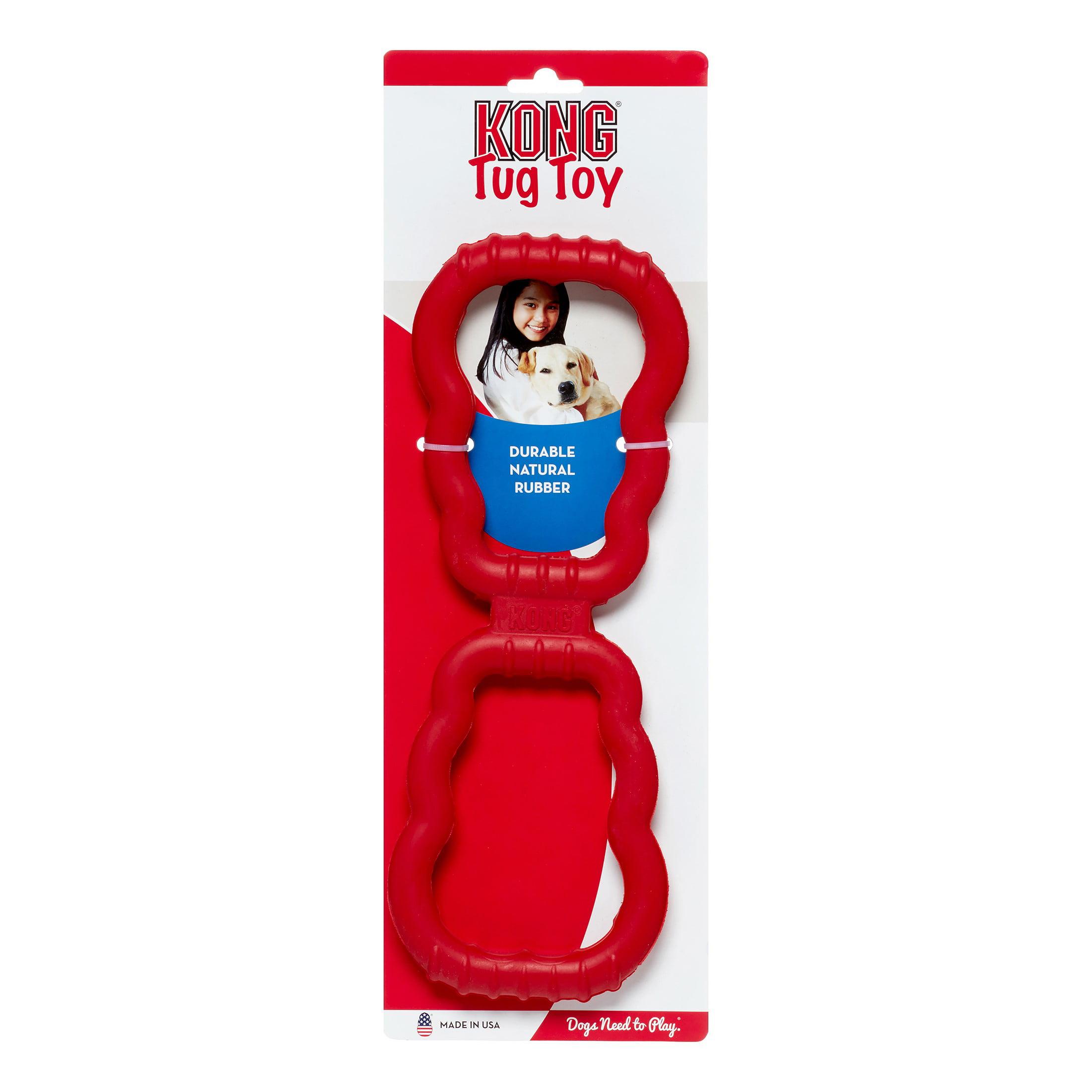 KONG Tug Dog Toy, Red