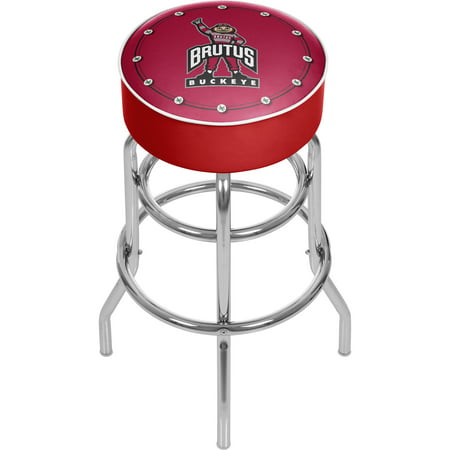 Ohio State University Logo Padded Bar Stool - Brutus ()