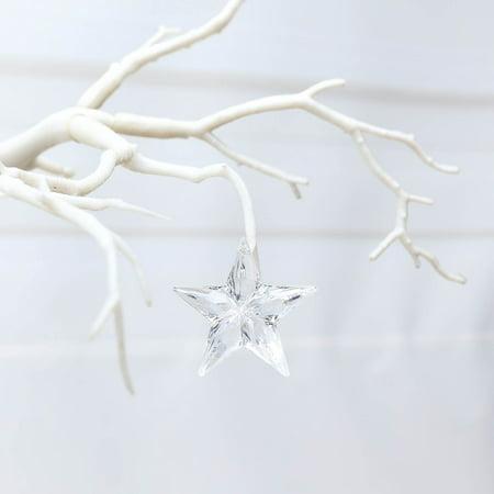 Star Garland Decoration (Efavormart 160 PCS Acrylic Crystal Garland Hanging Wedding Party Decoration Star)