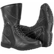 Firstgear Mens Kili Hi Motorcycle Boots Black 10 9010 WP