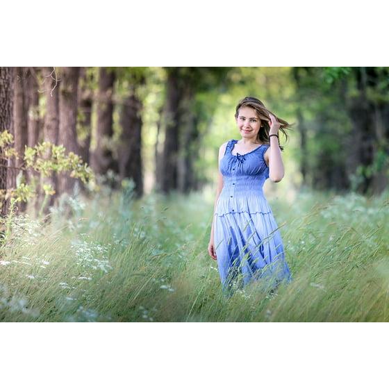 9199d979d56 LAMINATED POSTER Summer Stroll Girl Sundress Story Fairy Forest Poster  Print 11 x 17 - Walmart.com
