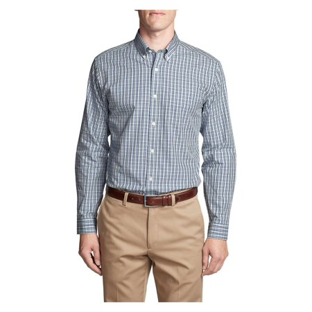 Eddie Bauer Men's Wrinkle-Free Classic Fit Pinpoint Oxford Shirt -