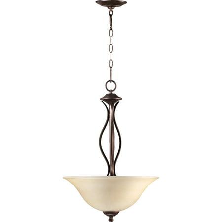 Pendants 3 Light With Oiled Bronze Finish Medium Base Bulb Type 16 inch 225 Watts 3 Oiled Bronze Finish