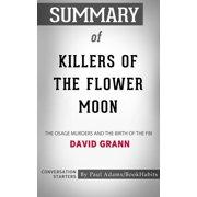 Summary of Killers of the Flower Moon - eBook