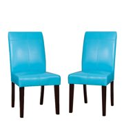 Bonded Leather Dining Chair Set (Set of 2)