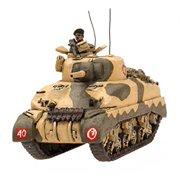 British: Sherman II (8th Army), British Sherman II tank model kit By Battlefront Miniatures Ship from US