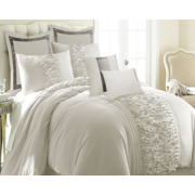 Colonial Home Textiles Marilyn Comforter Set - Off-White - King