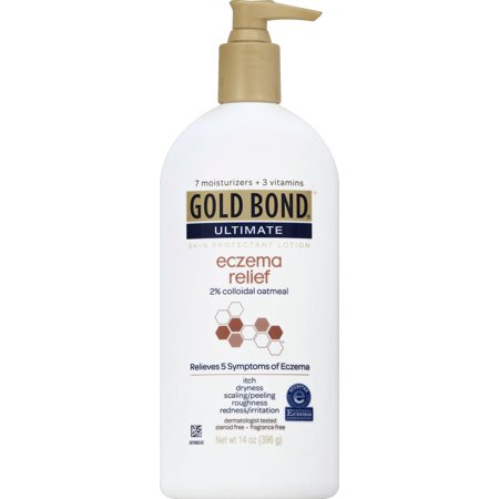 Gold Bond Ultimate Eczema Relief Skin Protectant Lotion 2   Colloidal Oatmeal  14 Oz
