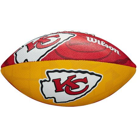 Kansas City Chiefs Wilson Junior Team Logo Mini Football Stoke City Football