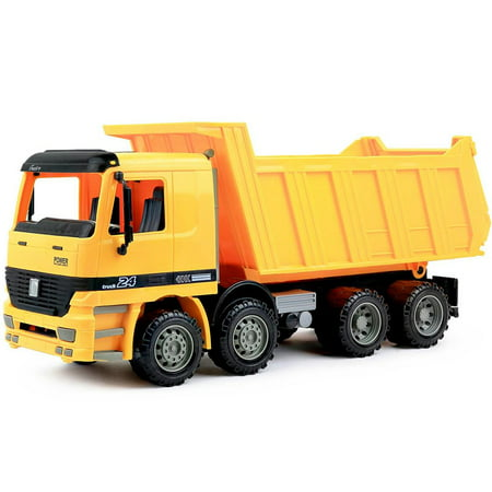 - Click N' Play Friction Powered Dump Truck Construction Toy Vehicle for Kids
