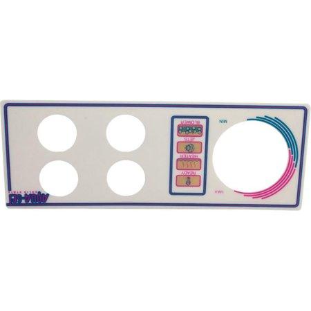 Len Gordon 930244-401 AquaSet Pool & Spa Control 4 Button (Spa Side Label 2btn Len)