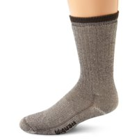 Wigwam 2 pack Men's Merino Wool Comfort Hiker midweight Crew Length Socks