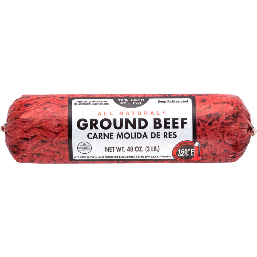 Walmart Ground Sirloin Nutrition