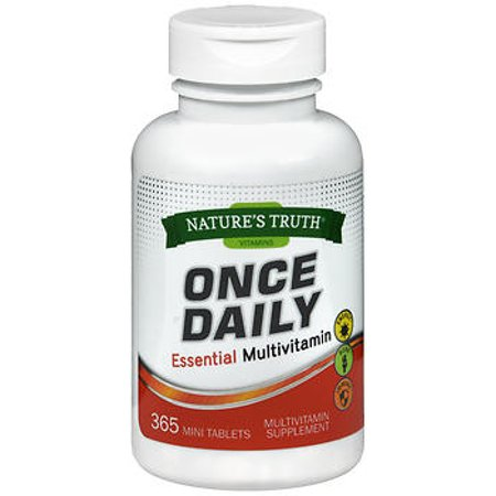 Nature's Truth Once Daily Essential Multivitamin - 365 Mini Tablets