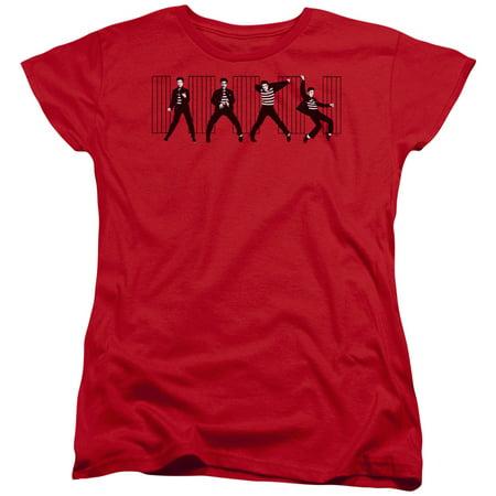 Elvis Presley Jailhouse Rock Womens Short Sleeve (Evisu Clothing)
