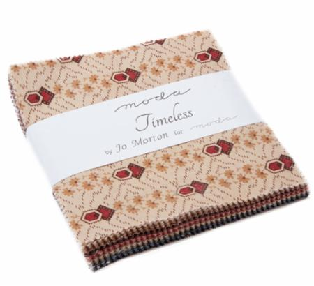 New Hope Charm Pack by Jo Morton; 42-5 Precut Fabric Quilt Squares