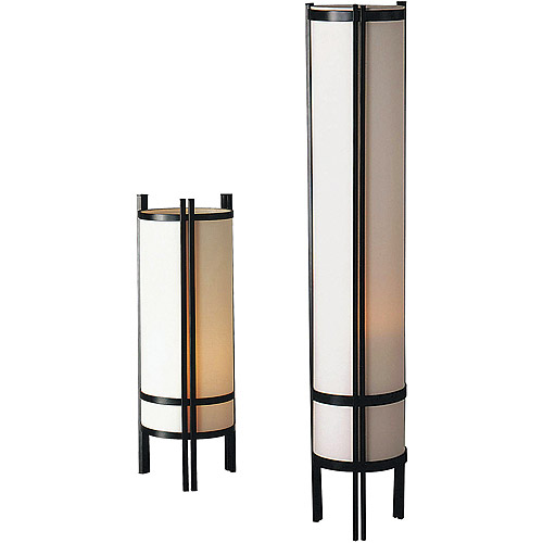 Captivating Japanese Table U0026 Floor Lamp Set   Walmart.com