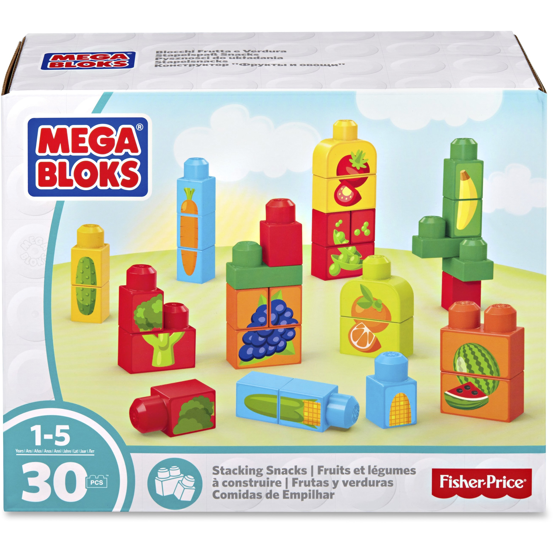 Mega Bloks Stacking Snacks Building Blocks Set by Mega Bloks