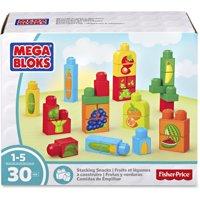 Mega Bloks, MBLDPY42, Stacking Snacks Building Blocks Set, 1 Each, Multi