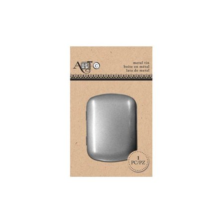 Small Rectangular Metal Craft Tin (Available in a pack of 24)](Small Metal Tins)